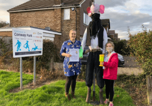 Scarecrow Trail in Fulwood