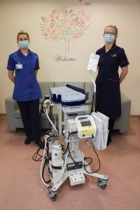 Investment in specialist equipment