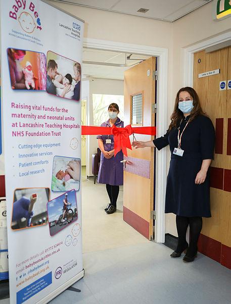 refurbished maternity bereavement suite